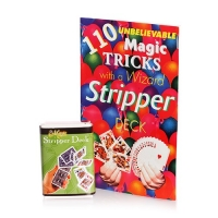 Stripper Card Deck Magic and Book of over 100 tricks