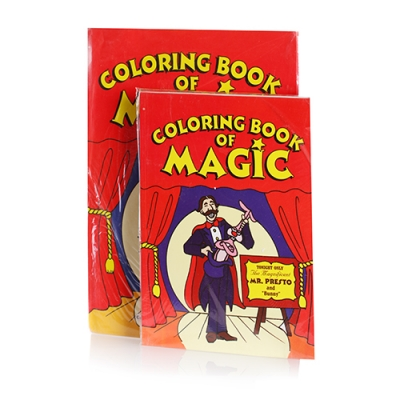Circus Magic Trick Coloring Book