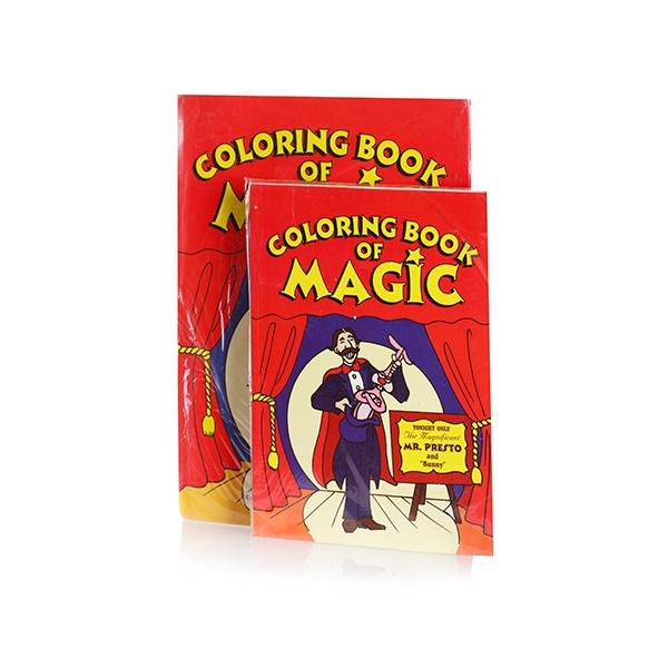 Magic Coloring Book Magic Trick Med Size