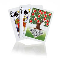Tree of Diamonds Card Magic Trick