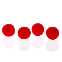 Sponge Balls 1 1/2 inch Red Goshman