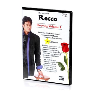 Rocco's Sleeving Vol 1 Instructional Magic Tricks DVD